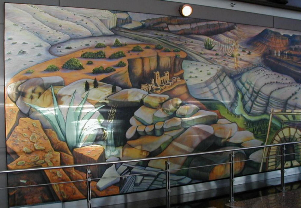 Unexplained Symbolism In The Murals At The Denver New World Airport DIA Part 61