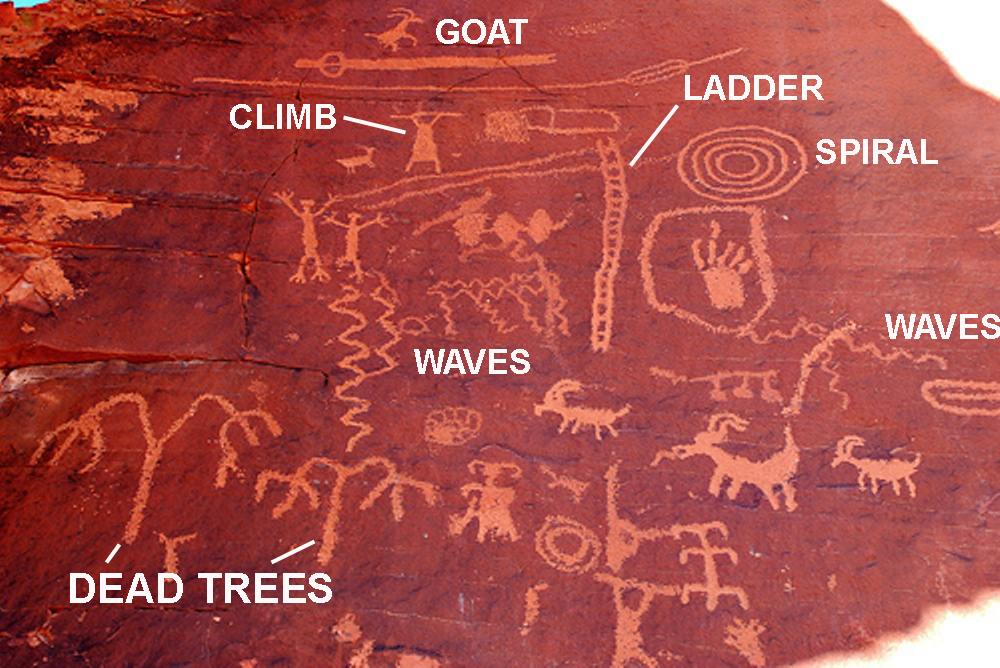 ancient petroglyphs  pictographs  and cave drawings from around the world